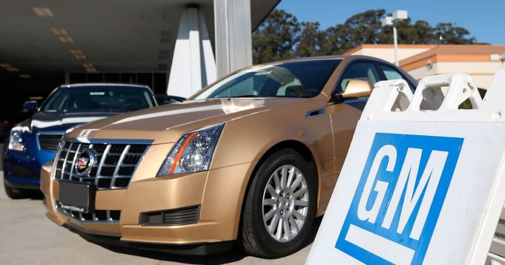 Picture of GM Cars that can be bought with GM Visa card